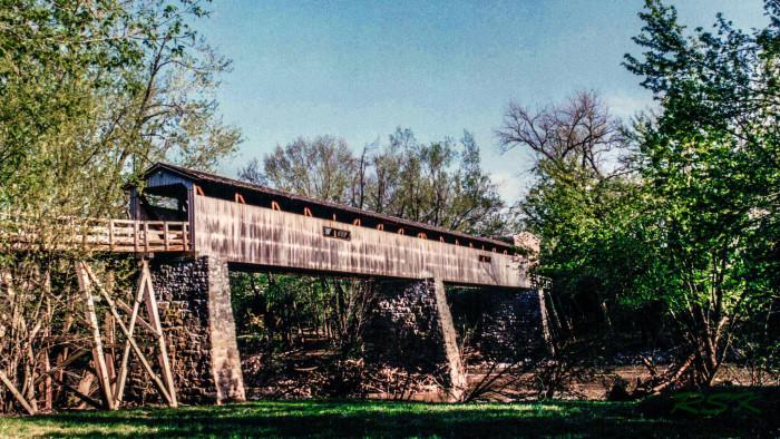 3) Port Royal State Park Covered Bridge
