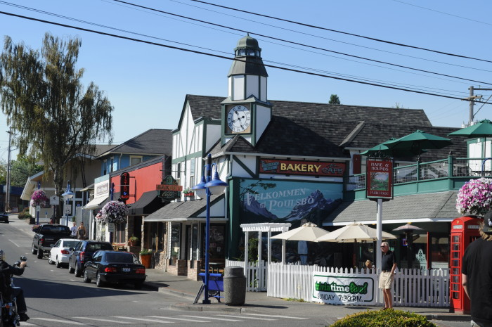 1. Visit the Scandinavian-themed town, Poulsbo.