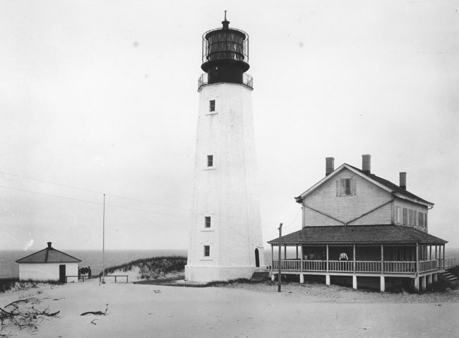 1. The Cape Henlopen Lighthouse in Lewes