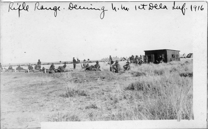 6. The rifle range for the Delaware National Guard