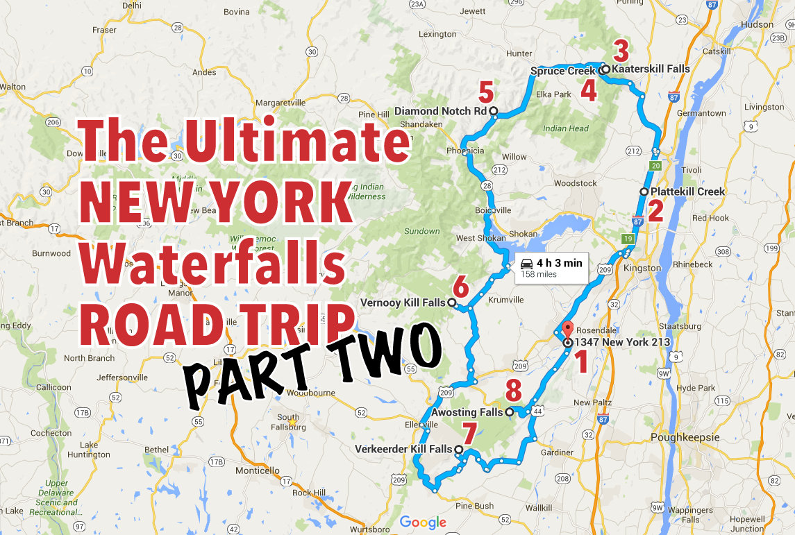 Rock Road Trip The Ultimate Collection: The Ultimate New York Waterfalls Road Trip