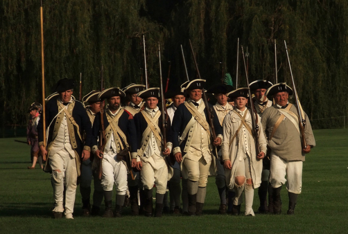5. New Jersey ranks #1 in number of Revolutionary War battles fought in a single state.