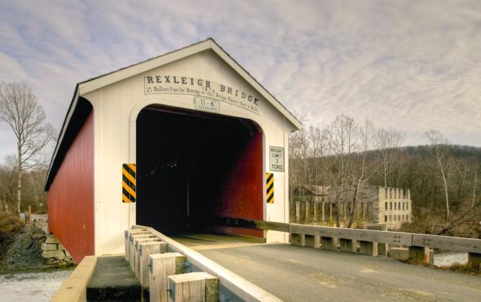 2. Rexleigh Covered Bridge