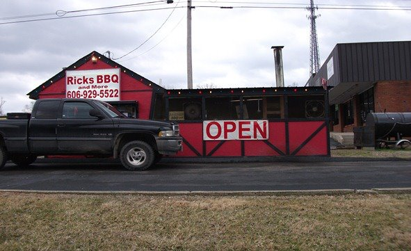 8. Rick's Barbecue and More at 5850 US 60 in Ashland