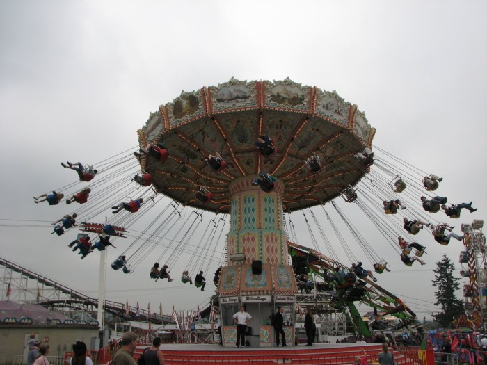 9. The state fairs are wonderful.
