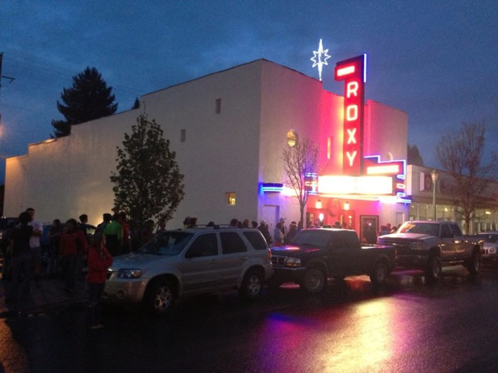 5. Catch a movie at one of Idaho's vintage-style theaters.