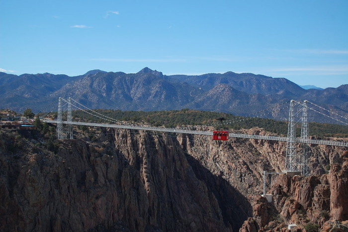 Throughout the years, the Royal Gorge Bridge has seen a number of renovations and up-keeping, most famously in the early 1980's when $2.8M was put in for new cable anchors, suspension rods and paint.