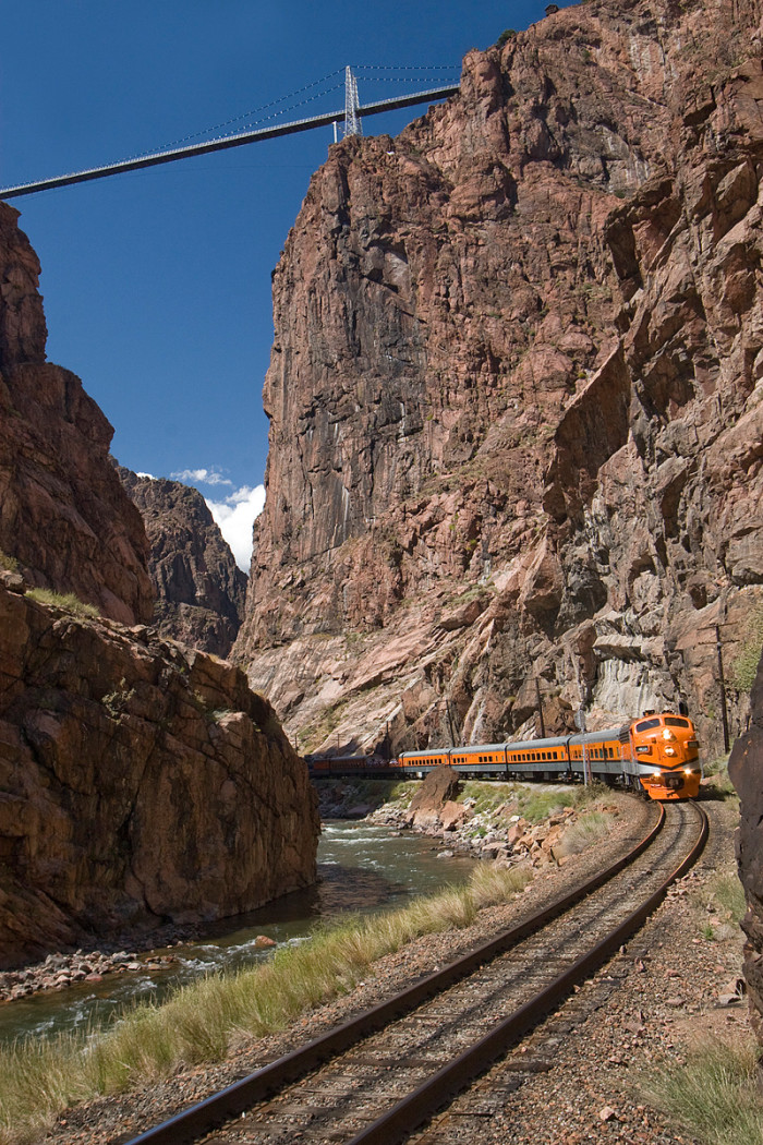 If walking across what is essentially an open air, 100-story building just isn't your thing, don't worry; the surrounding Park offers a variety of things to do including a zipline, children's area, and rides on the acclaimed Royal Gorge Route Railroad.
