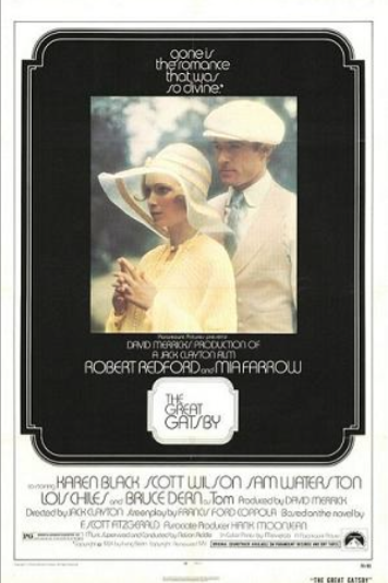 7. The Great Gatsby (1974 version)