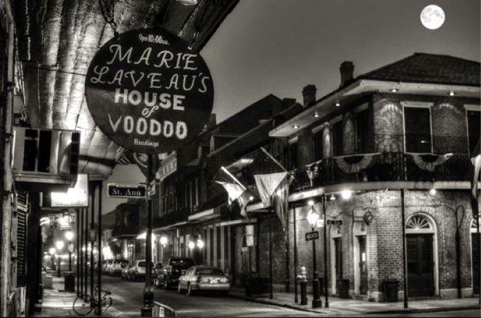 This museum in honor of Marie Laveau can still be found in the French Quarter New Orleans today.