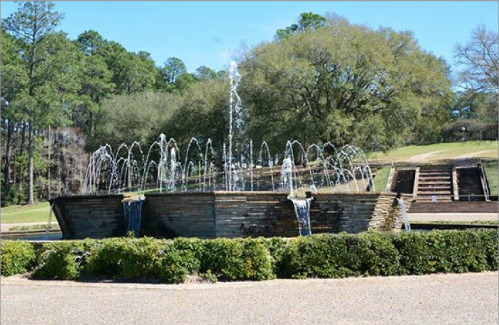 Hodges Gardens was developed by A. J. Hodges, a native of Cotton Valley in Webster Parish.