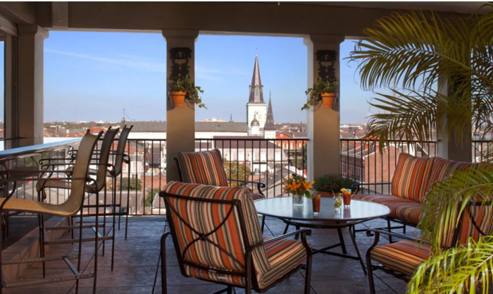 9. La Riviera Poolside Bar, Omni Hotel, New Orleans