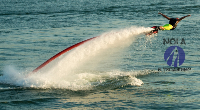 12. Rent a flyboard on Lake Pontchartrain.