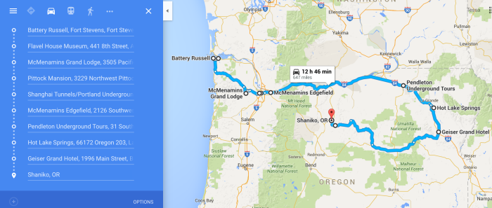 The Ultimate Terrifying Northern Oregon Road Trip