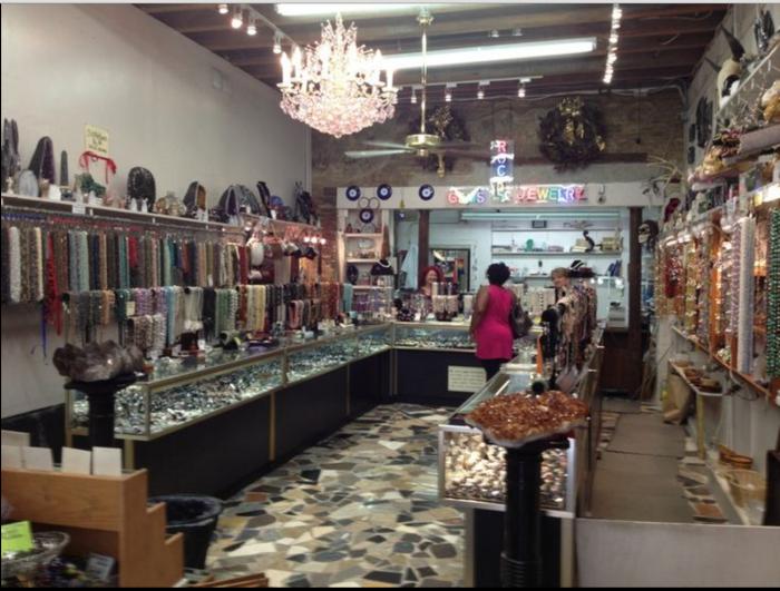 14) French Quarter Gem & Lapidary, 527 St. Philip Street