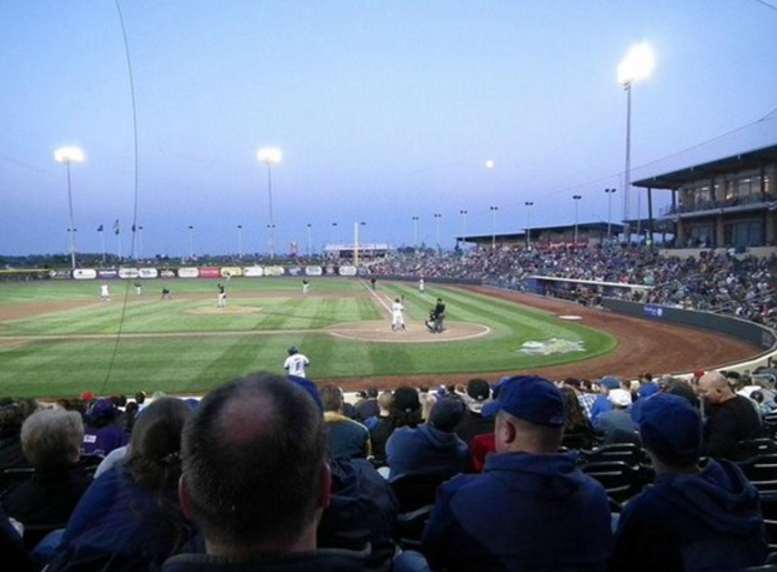 2. Papillion is where you'll find Werner Park, the home of Omaha's minor league baseball team, The Storm Chasers.