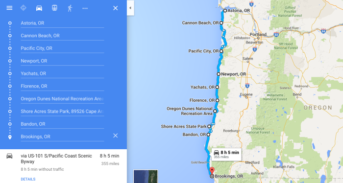 the ultimate oregon coast road trip