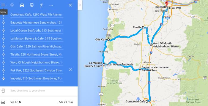 The Ultimate Oregon Restaurant Road Trip