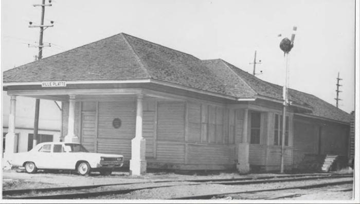 2. Ville Platte Train Station, Missouri Pacific, 1970