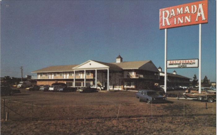 4. Ramada Inn, 1972, Shreveport