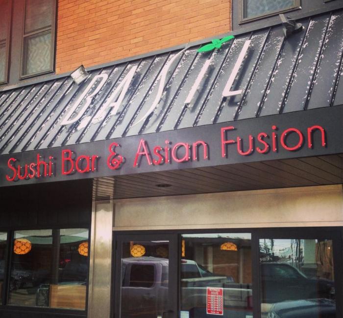 4. Basil Sushi Bar & Asian Bistro - Williston
