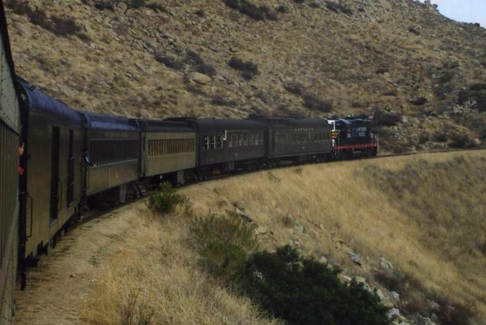 7. Pacific Southwest Railway Museum