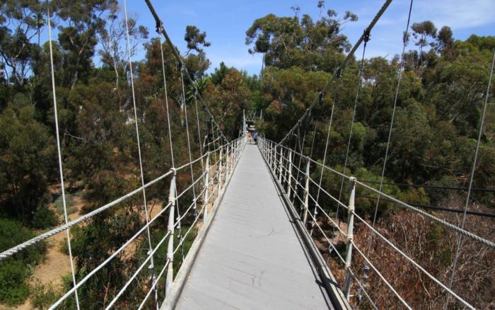 1. Spruce Street Suspension Foot Bridge in San Diego