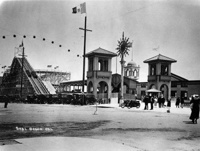 3. Seal Beach Amusement Park approximately 1920.
