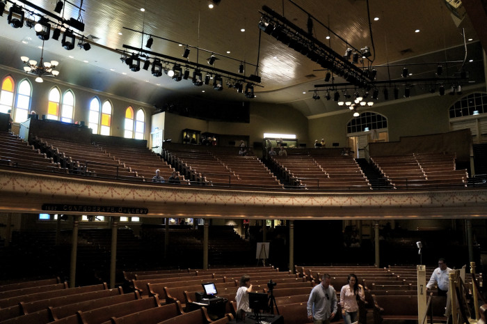 5) See a show at the Ryman.