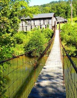 swinging bridges Kentucky