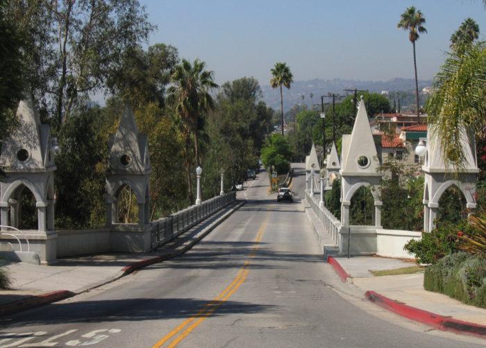 5. Shakespeare Bridge in Los Angeles