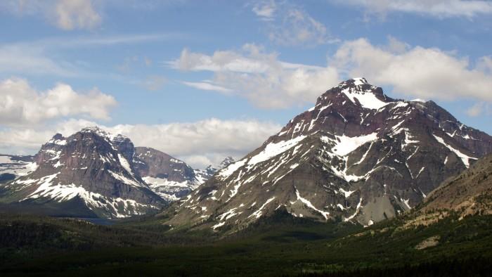 5. Sinopah and Rising Wolf Mountains