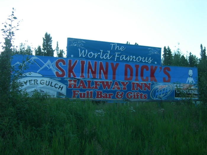 5. Always Classy In Alaska: Every tourist has this photo on their camera reel.