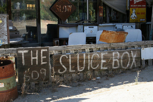 Welcome to the Sluice Box.