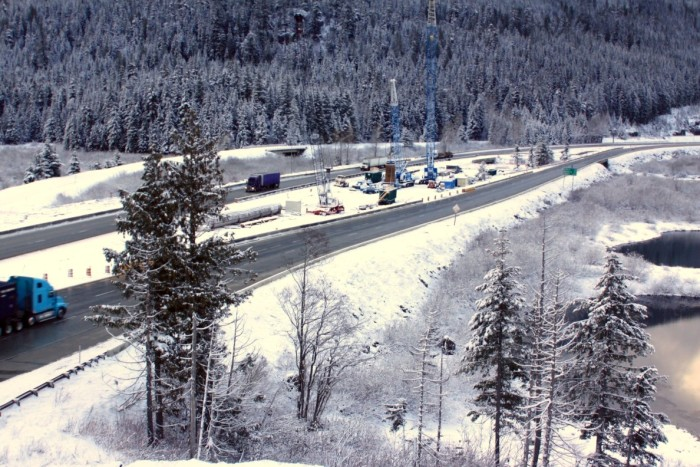 10. The one time you don't check Snoqualmie Pass before you drive it is the one time you'll get stuck on it. Always, always check.