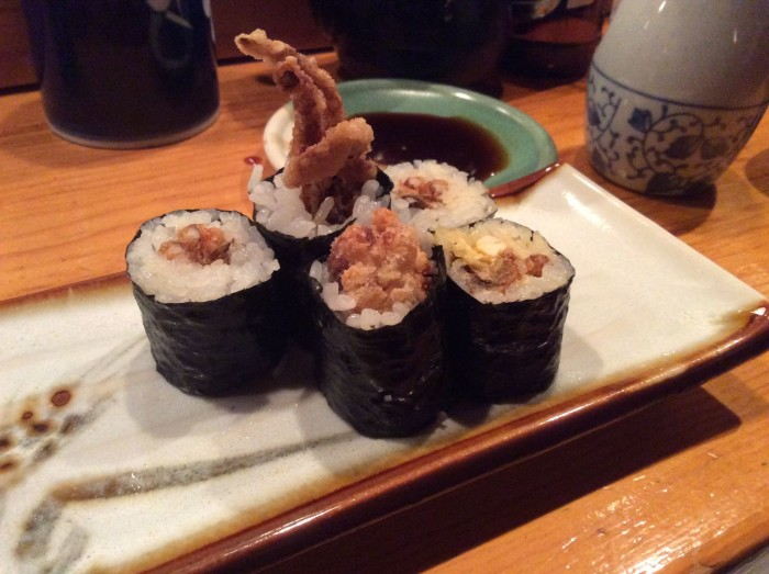 18. Soft Shell Crab Roll at Sagami Japanese Restaurant, Collingswood
