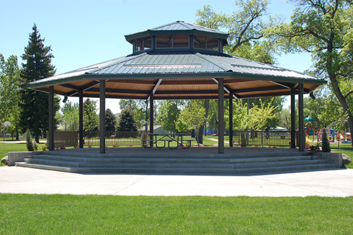 2. South Park Gazebo, Billings