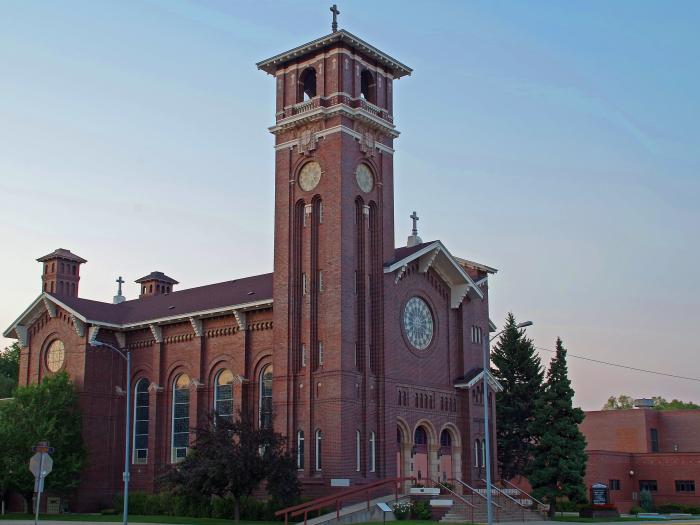 8. Saint Leo's Catholic Church, Fergus County