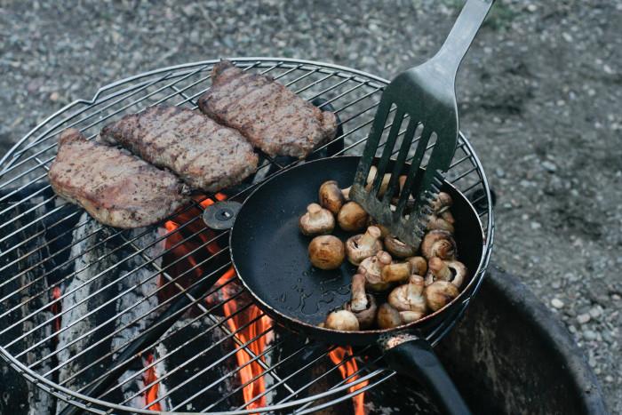 8.  Steak