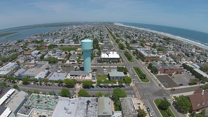 Aerial View Of Stone Harbor