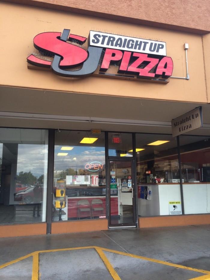10. Straight Up Pizza, Albuquerque