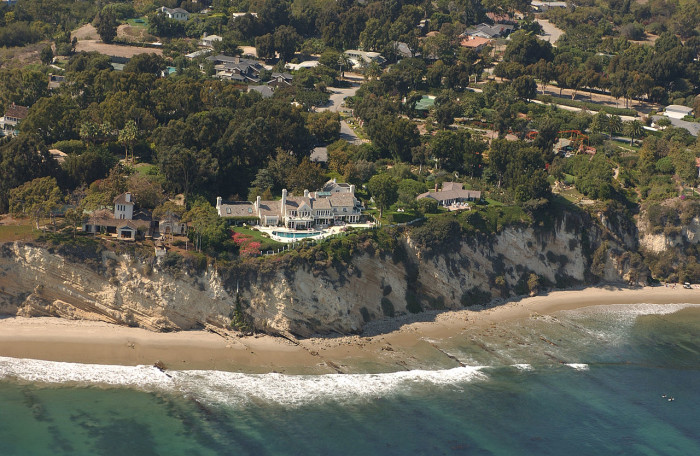 1. The Barbra Streisand Estate in Malibu