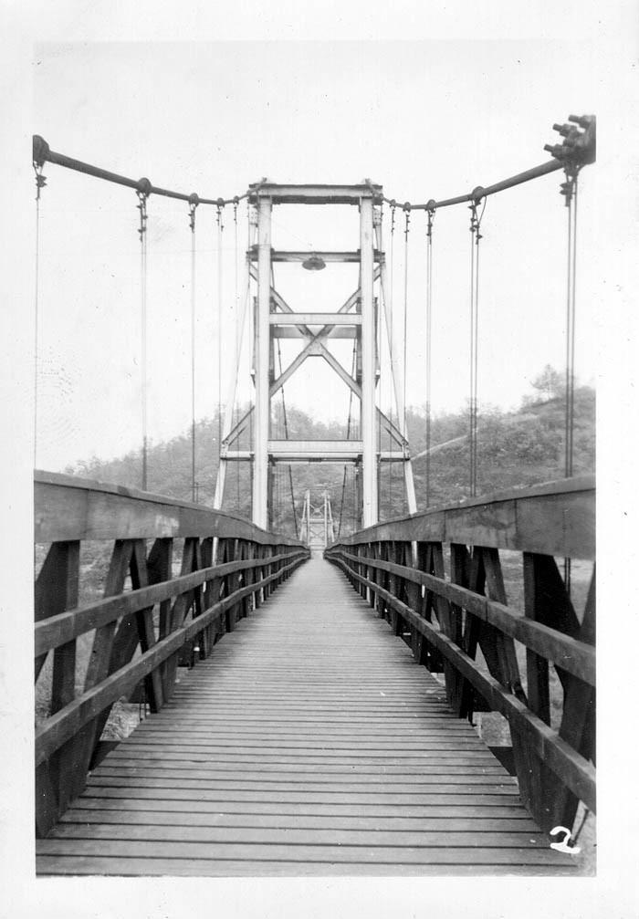3. Swinging Bridge in Hazard