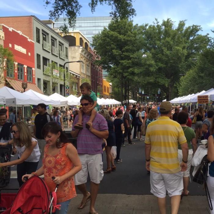 8. Greenville - Saturday Market