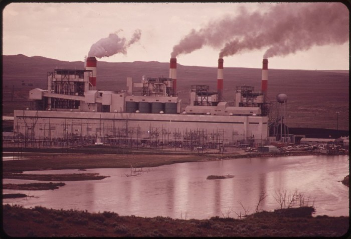 4. The Dave Johnston Power Plant - 1973