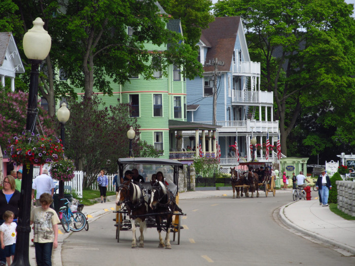 10. Take a ferry to Mackinac Island.