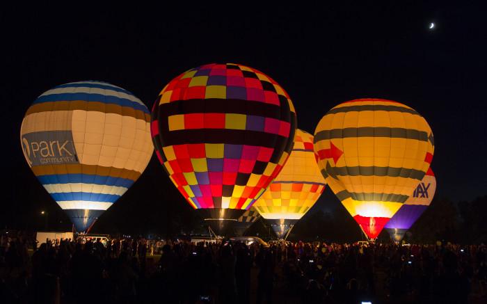 11. Ride on a hot air balloon.
