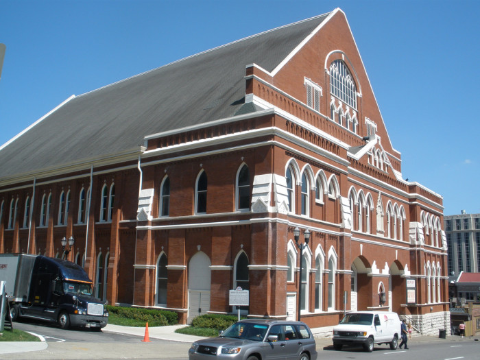 3) Take in a show at The Ryman