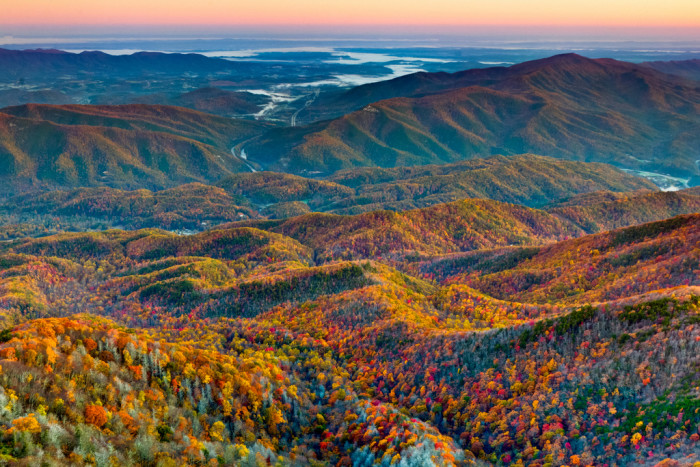 3. Take in the Great Smoky Mountains.
