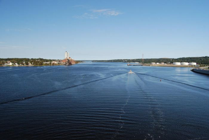 7. Taunton River